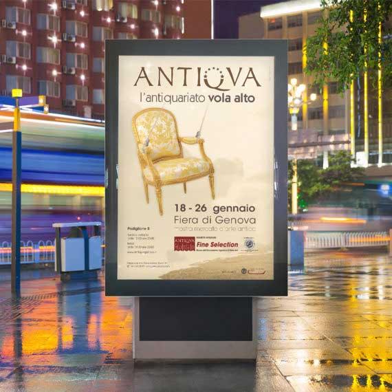 Campagna affissioni antiqua 2014