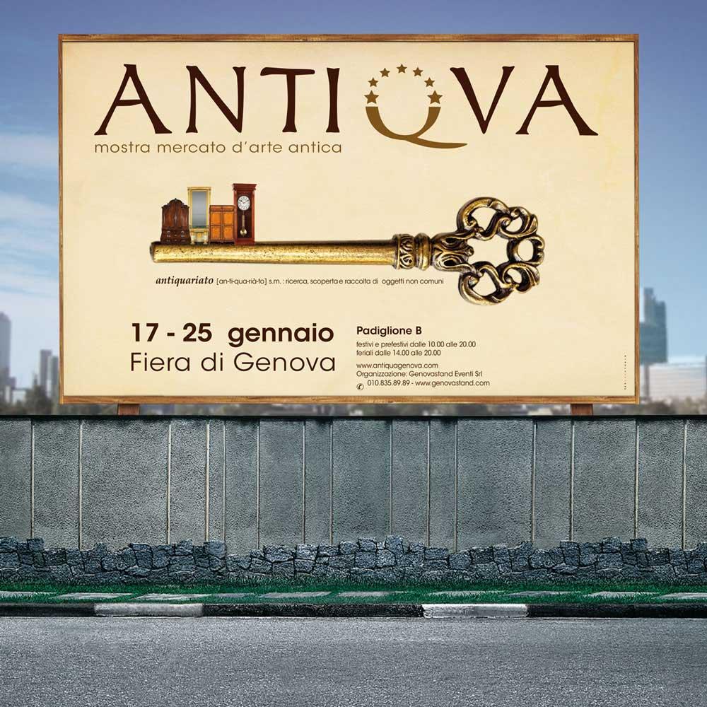 Campagna affissioni antiqua 2015