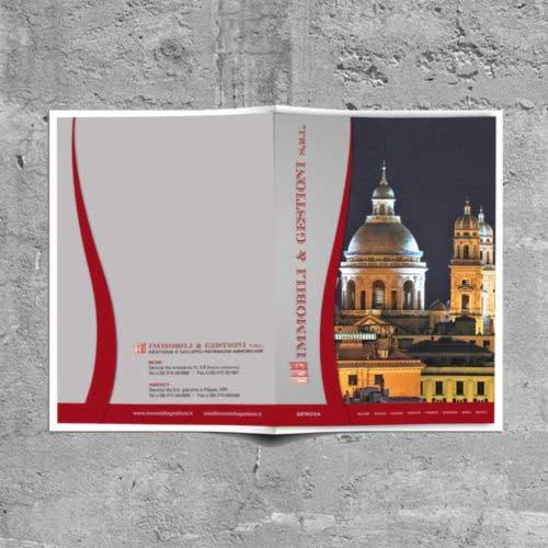 Tre Art, studio grafico per Immobili & Gestioni srl