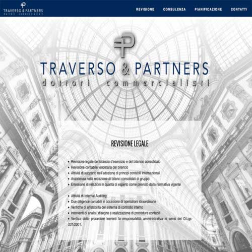 Tre Art web agency progetto Traverso e Partners