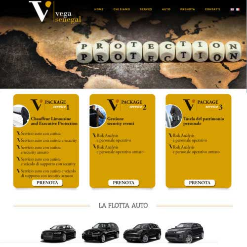 Tre Art web agency progetto Vega Senegal