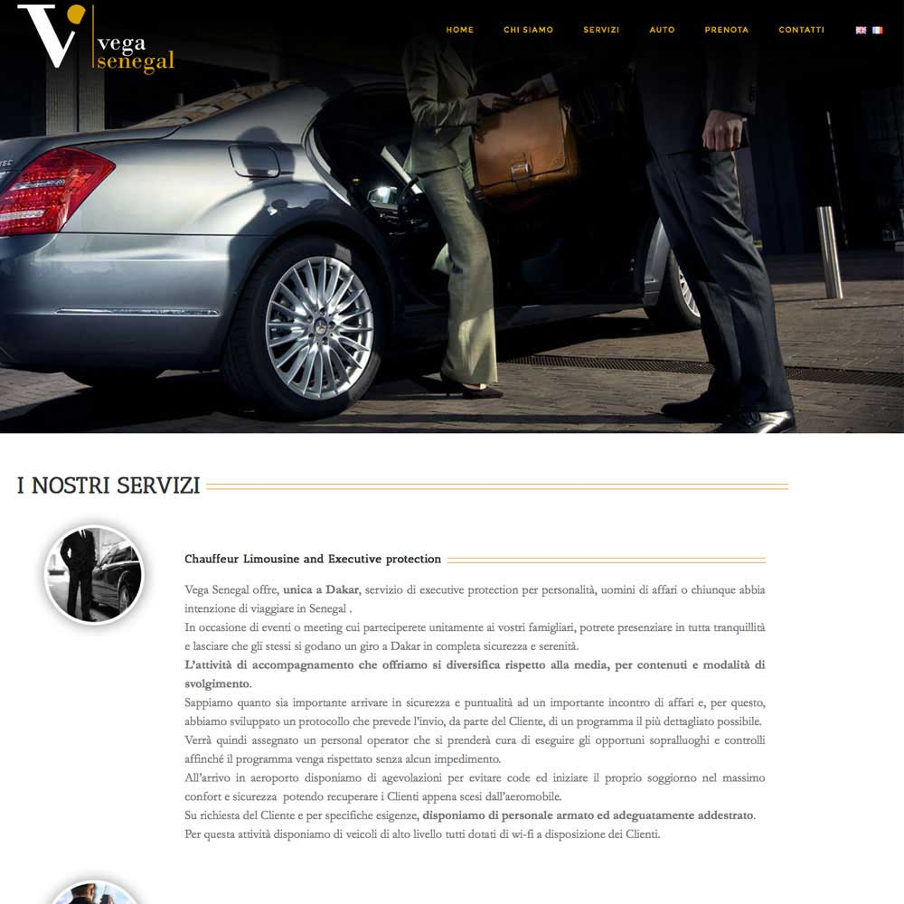 Tre Art web agency progetto Vega Senegal
